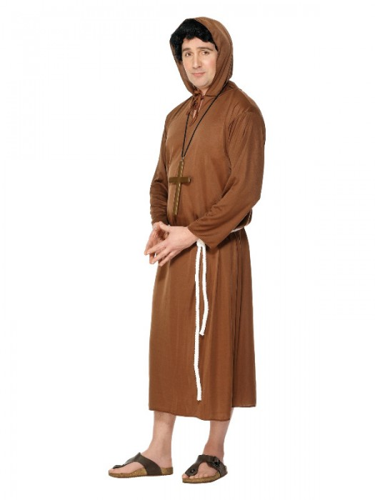 Monk Costume, Adult